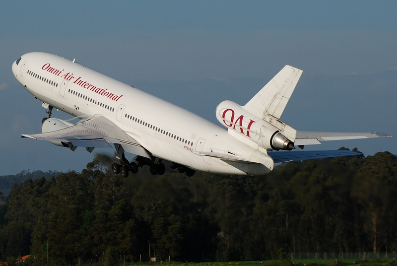 Tulsa International Airport is a hub for Omni Air International.